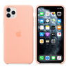 Apple Silicone Cover for iPhone 11 Pro Max - Grapefruit
