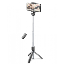 CellularLine Freedom Bluetooth Selfie Stick Tripod - Black