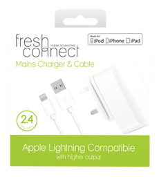 Fresh Connect Lighting mains 2.4 amp -White