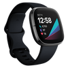 Fitbit Sense Advanced Health & Fitness Smartwatch - Carbon/Graphite Stainless Steel