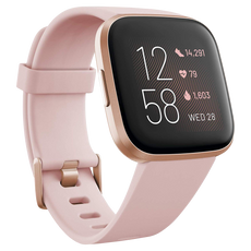 Fitbit Versa 2 Smartwatch - Petal/Copper Rose