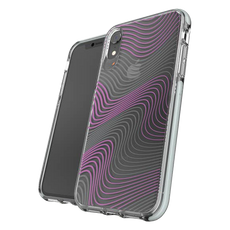 GEAR4 Victoria Fabric Cover for iPhone XR - Clear