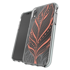 GEAR4 Victoria Tribal Leaf Cover for iPhone XR - Clear
