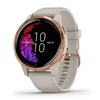 Garmin Venu® Smartwatch - Light Sand/Rose Gold
