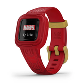 Garmin Vivofit Jr 3 Activity Tracker Marvel Iron Man - Red