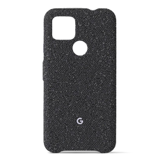 Google Fabric Cover for Google Pixel 4a (5G) - Basically Black