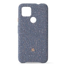 Google Fabric Cover for Google Pixel 4a (5G) - Blue Confetti
