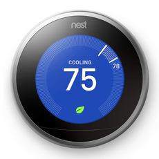 Google Nest Learning Thermostat 3rd Gen - White