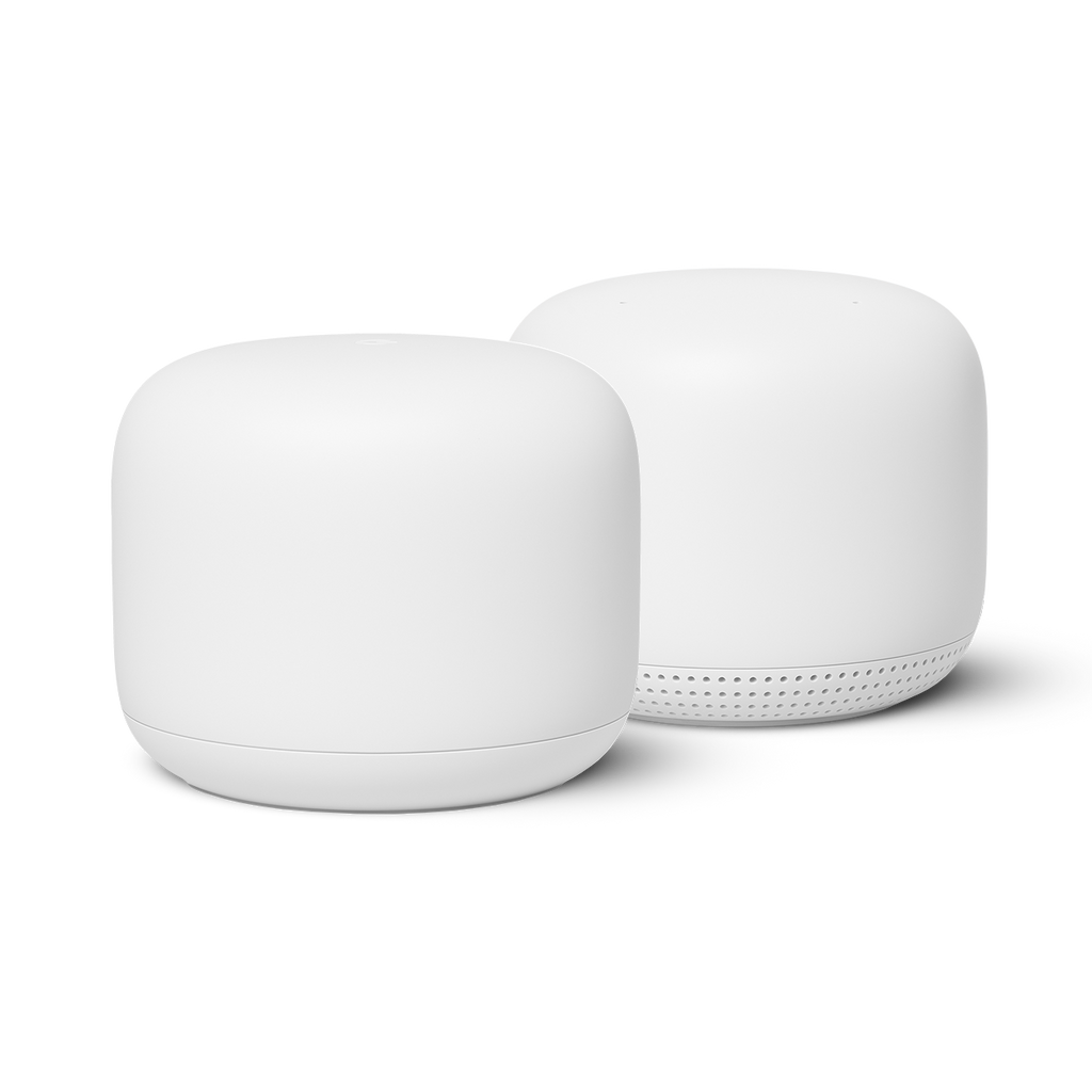 Google Nest Wi-Fi Router & Point - White