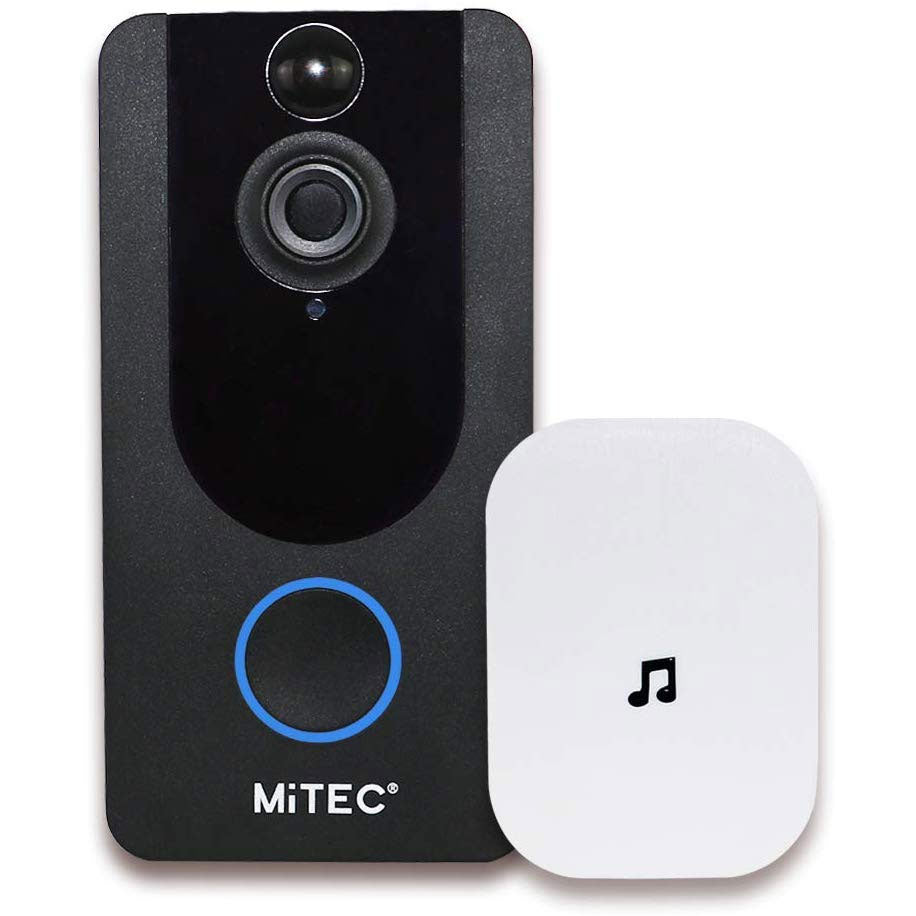 MiTEC Miview II Video Doorbell + Auxiliary Ringer