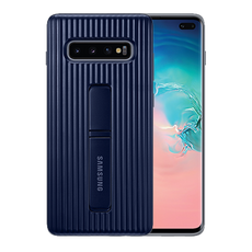 Samsung Protective Standing Cover for Galaxy S10 Plus - Blue/Black