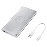 Samsung Wireless Battery Pack 10000mAh with Type-C - Silver