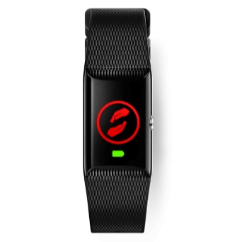V-SOS Vodafone GPS Watch Tracker - Black