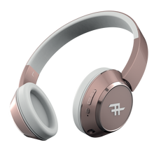 iFrogz Coda Bluetooth Headphones - Rose Gold