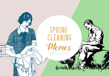 Memes To Get You Through The Mundane Spring Cleaning