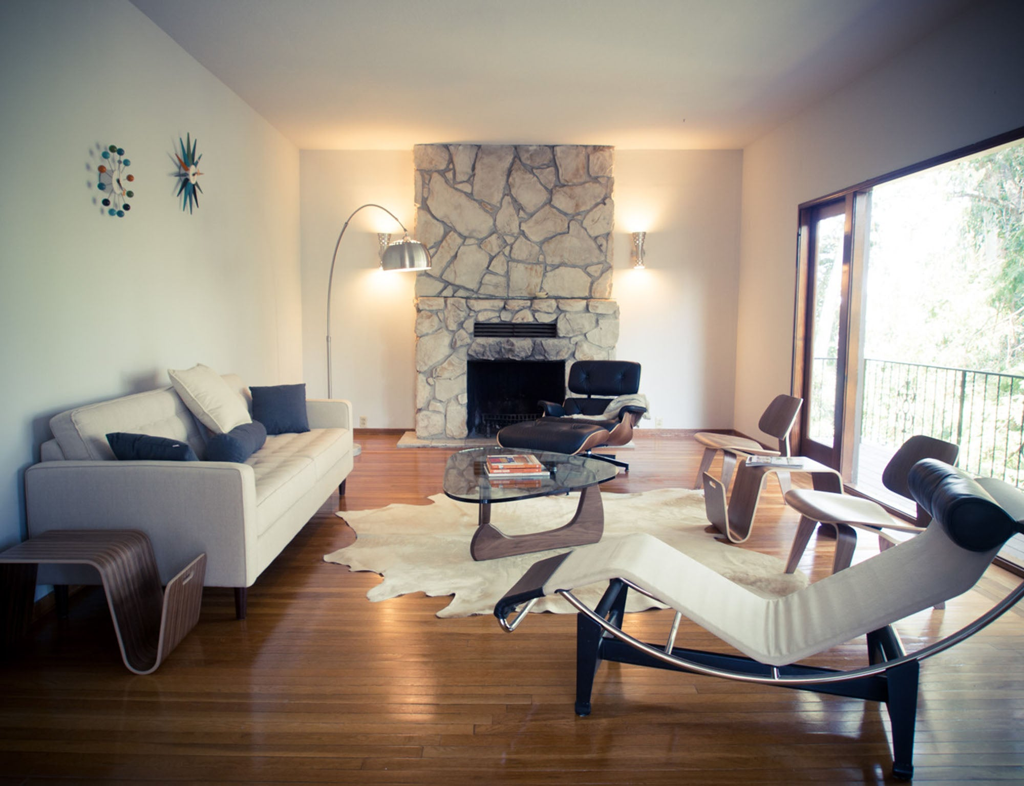 Eames Lounge Chair Living Room eames lounge chair - customer gallery | barcelona designs