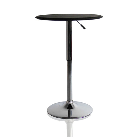 Adjustable Bar Table - Black