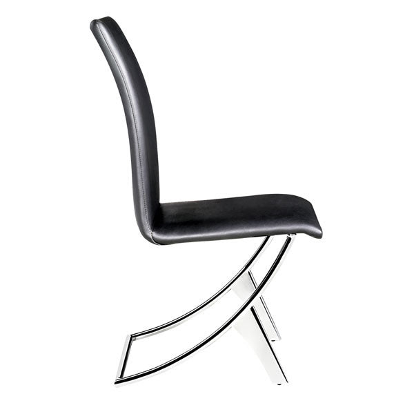 Delfin Chair Black By Zuo