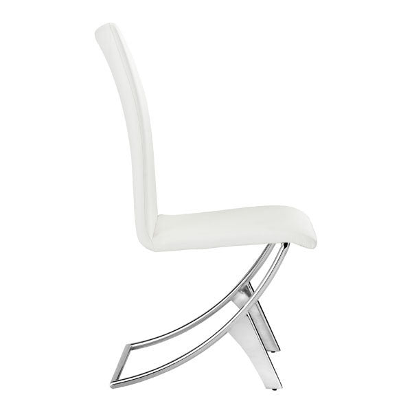 Delfin Chair White By Zuo
