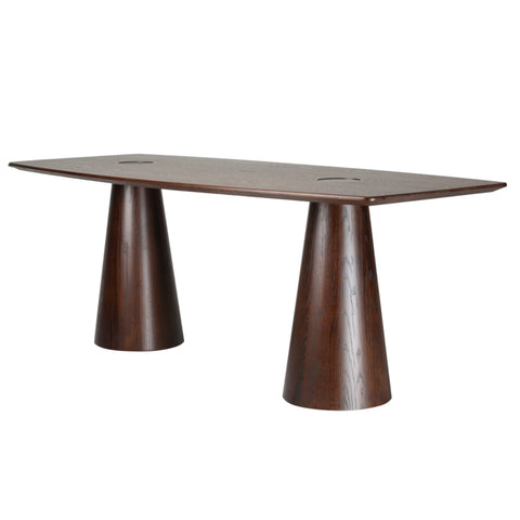 Orchard Dining Table - Mid Walnut