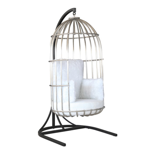 Bird Hanging Chair - White