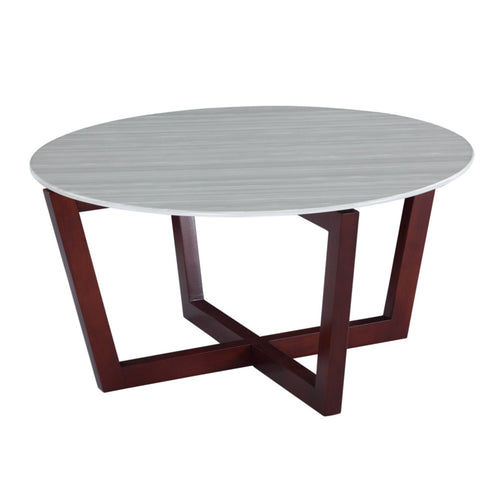 Cross Coffee Table - Cherry