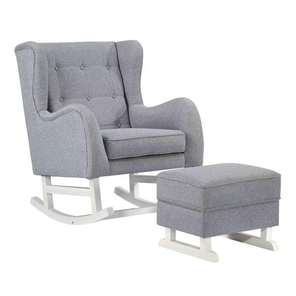 Baby Lounge Chair - Gray