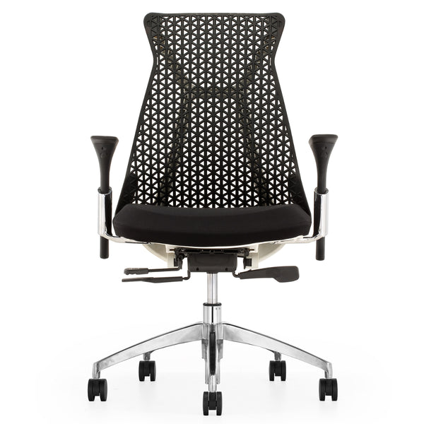 Santer Office Chair Flex Back - Black