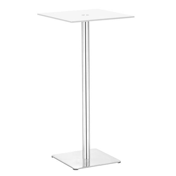 Dimensional Bar Table White