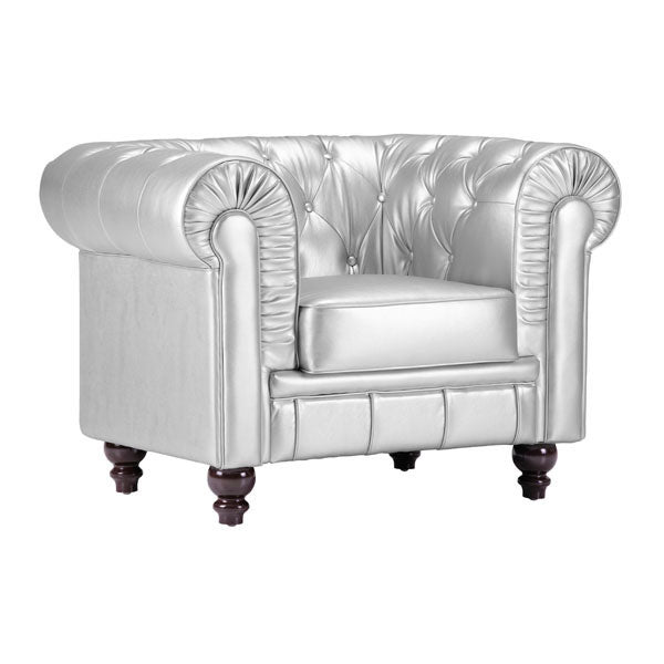 Aristocrat Arm Chair Silver