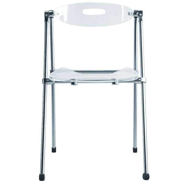 Acrylic Folding Chair