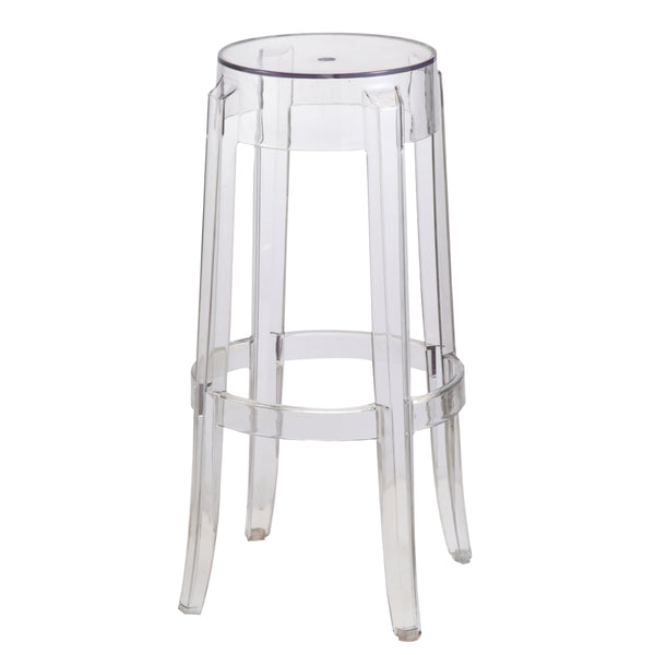 Clear Bar Stool - Clear