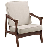 Paddle Upholstered Lounge Chair