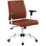 Lattice Vinyl Office Chair