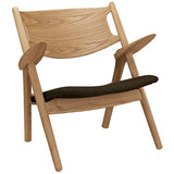 Concise Wood Lounge Chair