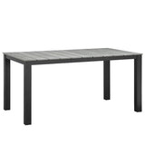 "Maine 63"" Outdoor Patio Dining Table"