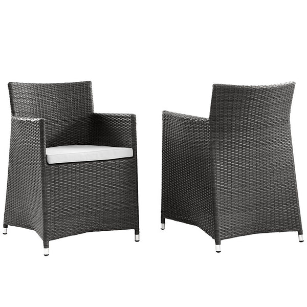 Junction Armchair Outdoor Patio Wicker Set of 2