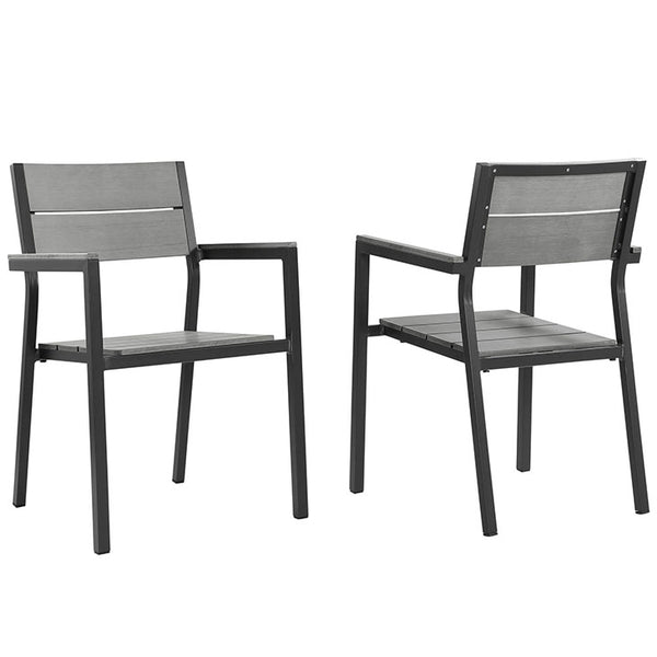 Maine Dining Armchair Outdoor Patio Set of 2