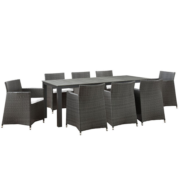 Junction 9 Piece Outdoor Patio Dining Set