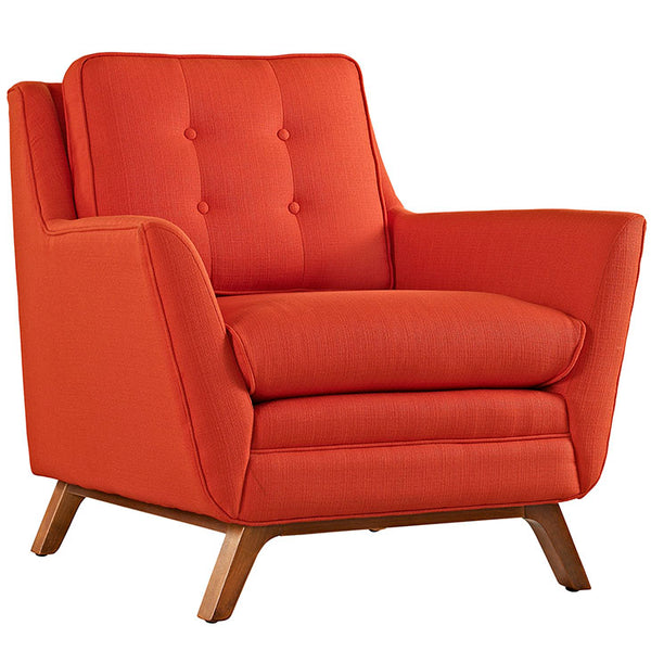 Beguile Upholstered Fabric Armchair