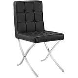 Trieste Vinyl Dining Chair