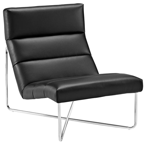 Reach Upholstered Vinyl Lounge Chair