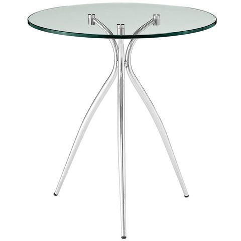 Moxy Glass Top Side Table