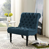 Navigate Upholstered Fabric Lounge Chair