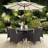 Convene 2 Piece Outdoor Patio Dining Set
