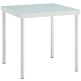 Harmony Outdoor Patio Aluminum Side Table