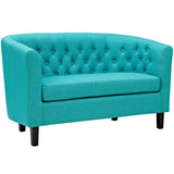 Prospect Upholstered Fabric Loveseat