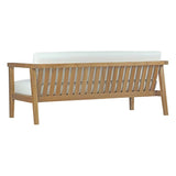 Bayport Outdoor Patio Teak Loveseat