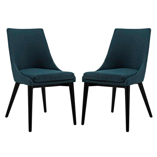 Viscount Set of 2 Fabric Dining Side Chair