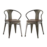 Promenade Set of 2 Bamboo Dining Chair